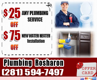 plumbing rosharon tx coupon offer